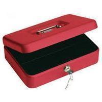 Beaumont Geldkist  250x180x90mm rood