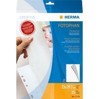 Fotokarton Herma 7578 230x297 mm wit 25 vel