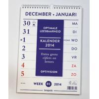 Brepols Optivision kalender(grote letters en cijfers) 2020