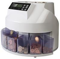 1250 - Muntenteller- en sorteerder Euro. 220 munten p/m
