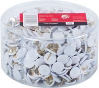 5 Star punaises wit, doos van 750 stuks