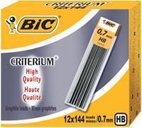 BIC Conté criterium Gilbert mines etui van 12 potloodstiften van 0,7 mm