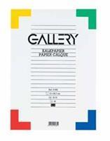 Gallery kalkpapier, ft 21 x 29,7 cm (A4), etui van 20 vel
