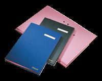 Esselte Vloeiboek  6210 karton 20tabs zwart