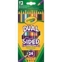 Crayola 12 Duo-kleurpotloden