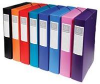 Exacompta elastobox rug van 6 cm geassorteerde kleuren