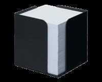 Atlanta Re-Solution Memokubus zwart 100% gerecycled polystyreen<BR>