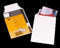 Cleverpack Envelop  B4 250x353Mm karton wit 5stuks