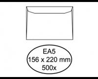 Quantore Envelop  bank EA5 156x220mm wit 500stuks