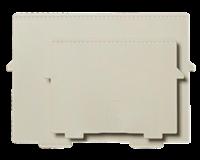 Multiform Scheidingsplaat kaartenbak  A5 dwars grijs