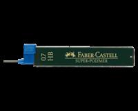 Faber-castell Potloodstift  0.7mm HB 12stuks