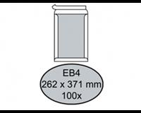 Quantore Envelop  bordrug EB4 262x371mm zelfkl. wit 100stuks