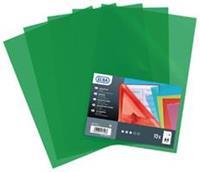 Elba L-map Shine, transparant groen, pak van 10 stuks