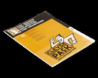 Cleverpack Envelop  tyvek E4 305x394mm zelfklevend wit 10st