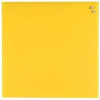 Naga Glasmagneetbord  geel