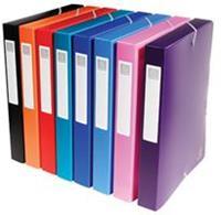 Exacompta elastobox rug van 4 cm geassorteerde kleuren