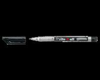 Stabilo Viltstift  Write-4-All 166/46 permanent zwart superfijn