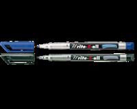 Stabilo Viltstift  Write-4-All 156/41 permanent blauw fijn