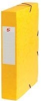 5 Star elastobox, rug van 6 cm, geel