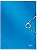 Documentenbox  WOW 30mm A4 PP blauw