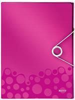 Documentenbox  WOW 30mm A4 PP roze