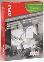 APLI Label  karton nr395 45x65mm wit 400stuks