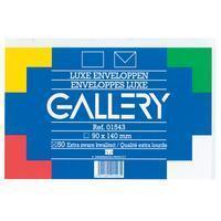Gallery enveloppen ft 90 x 140 mm, gegomd, pak van 50 stuks