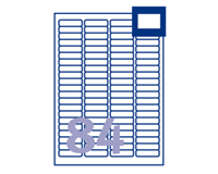 Avery Mini etiketten 46 x 11 mm. wit. L7656 (pak 2100 stuks)