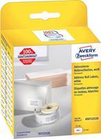 Avery Zweckform Avery-Zweckform Etiketten (rol) 54 x 25 mm Papier Wit 1 stuks Permanent AS0722520 Adresetiketten