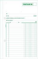 Exacompta facturen, ft 21 x 13,5 cm, tripli, verticaal, Nederlandstalig