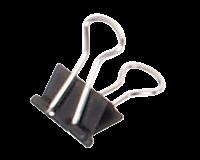 maul Papierklem  213 Foldback 13mm capaciteit 4mm zwart