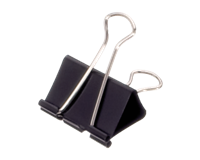 maul Papierklem  213 Foldback 41mm capaciteit 19mm zwart