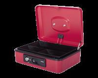 Pavo Geldkist  Deluxe 250x180x90mm rood