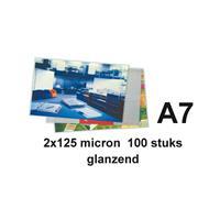 GBC Lamineerhoes  A7 2x125micron 100stuks