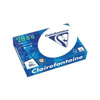 Clairefontaine Kopieerpapier  laser A4 80gr wit 500vel