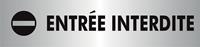 Stewart Superior zelfklevend pictogram entrée interdite