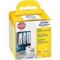 Avery Zweckform AVERY® Zweckform etiketten voor ordner met breede rug, nr. AS0722480, permanent