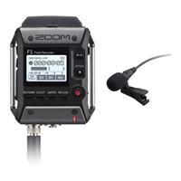 Zoom F1-LP Field Recorder met Lavalier Microfoon
