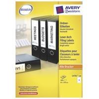 Avery Zweckform Rugetiket Avery L4761-100 192x61mm zelfklevend wit