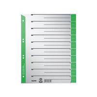 Leitz Subject Divider Green 16520055
