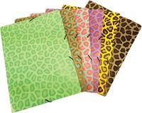 Bronyl elastomap Luipaard, geassorteerde kleuren