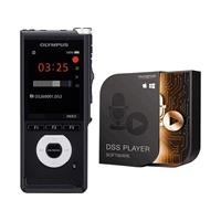 Digitaal dicteerapparaat Olympus DS-2600 Opnameduur (max.) 56 h Zwart incl. 2 GB SD-kaart, incl. spraakherkenningssoftware, incl. tas
