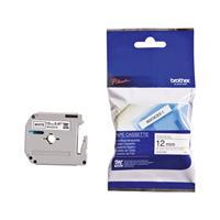 Brother M-K231S - Labelling tape 12mm white / black M-K231S