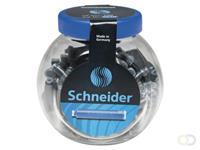 Schneider Inktpatroon  din blauw pot 100stuks
