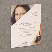 Schoellershammer Schilder/tekenpapier Nr.2 A4 grijs 110g/m2 blok 50 vel