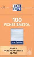Flashcard  75x125mm 100vel 210gr blanco wit