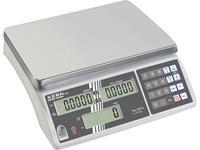 kern CXB 3K0.2+C Telweegschaal Kalibratie DAkkS Weegbereik (max.) 3 kg Resolutie 0.2 g werkt op het lichtnet, werkt op een accu Zilver Kalibratie DAkkS