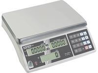 kern CXB 15K1+C Telweegschaal Kalibratie DAkkS Weegbereik (max.) 15 kg Resolutie 1 g werkt op het lichtnet, werkt op een accu Zilver Kalibratie DAkkS