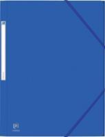 Elba Oxford Eurofolio elastomap, voor ft A4, blauw