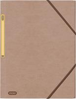Oxford Touareg elastomap uit karton, ft A4, beige